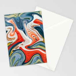 Crashing Cars Stationery Cards