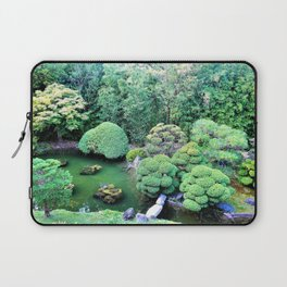 Japanese Tea Garden Laptop Sleeve