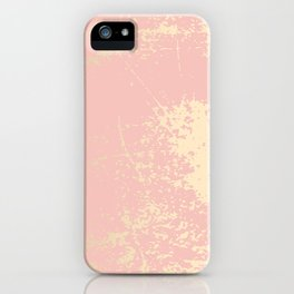 Coral gold patina iPhone Case