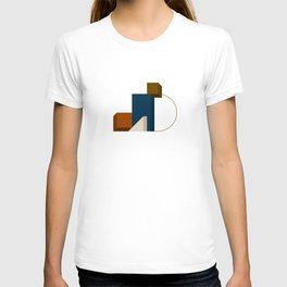 Abstrato 02 // Abstract Geometry Minimalist Illustration T-shirt
