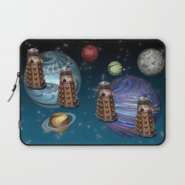 March Of The Daleks Laptop Sleeve