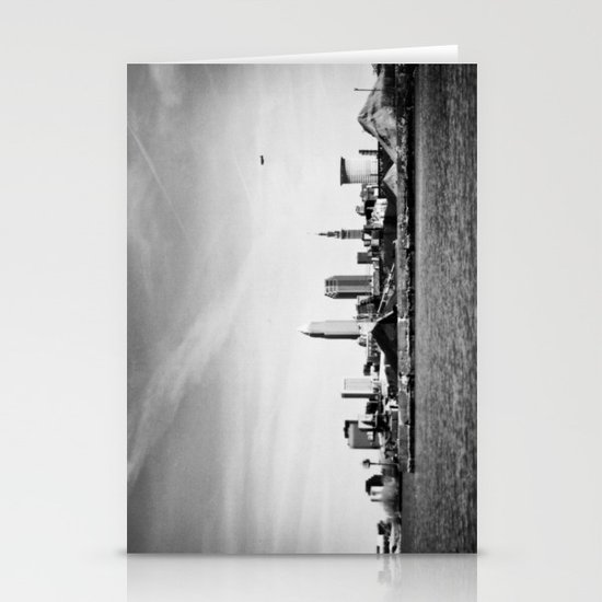 Cleveland from the West Stationery Cards