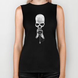 Straight Is the Gate and Narrow the Way Biker Tank