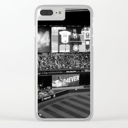 'They're Gonna Wave Him In' Clear iPhone Case