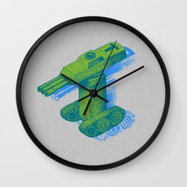 Tank T Wall Clock