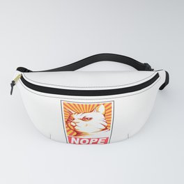 Obey Cats Fanny Pack