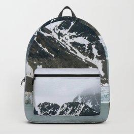 Arctic glacier scene Backpack