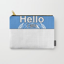 Hello I am from United Nations Carry-All Pouch