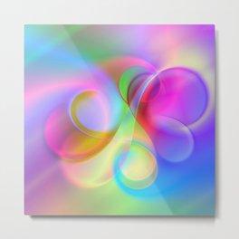 color whirl -21- Metal Print