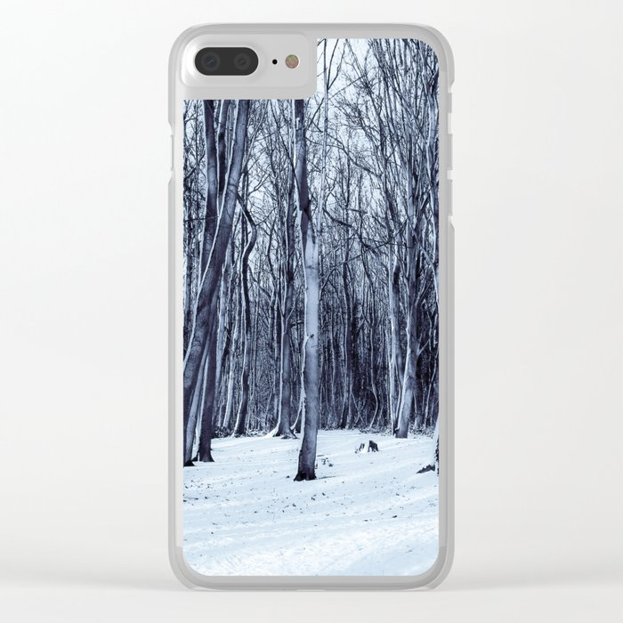 We Are The Trees Clear iPhone Case