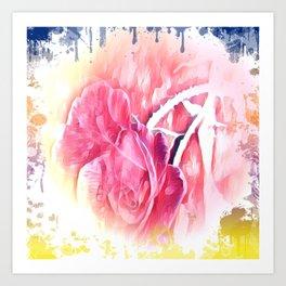 Rose Art Art Print