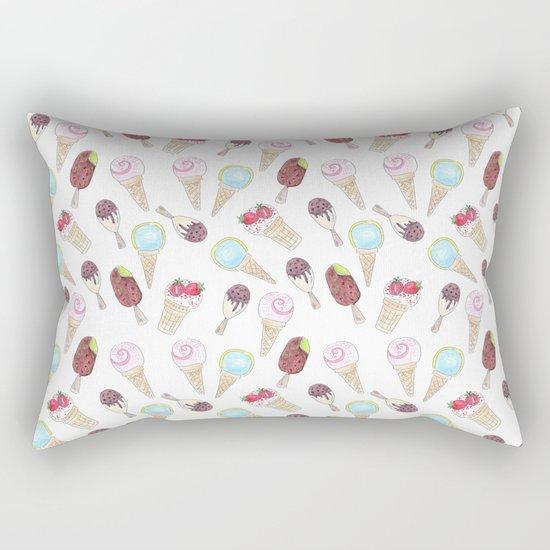 Like ice cream 1. Rectangular Pillow