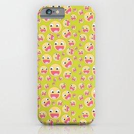 Happy Faces iPhone Case