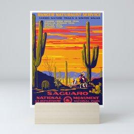 Saguaro National Monument Mini Art Print