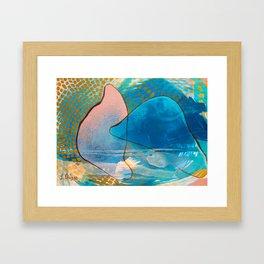 Aura del Mar Framed Art Print