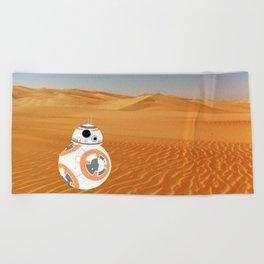 BB-8 on Jakku Beach Towel