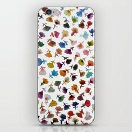 petits fleurs 2 iPhone Skin