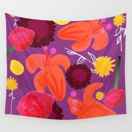 folk bright Wall Tapestry