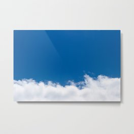 Cloud Whispers Metal Print