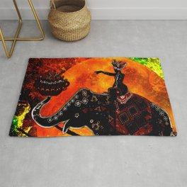 ELEPHANT JOURNEY Rug