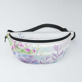 Summer Succulents Fanny Pack