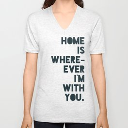 Home is with You Unisex V-Neck