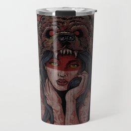 Tattooed Bear Travel Mug
