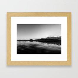 Dark Sunset Framed Art Print