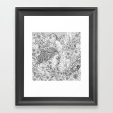 Lovemaking Framed Art Print