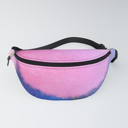 Colorful Neon Fluffy Pompoms Fanny Pack