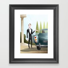 The Gentleman Framed Art Print