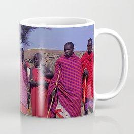 Sweet Welcome to a Massai Village - Kenya, Africa Coffee Mug