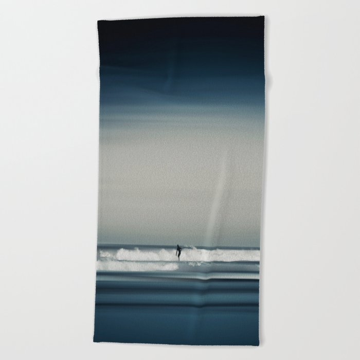 Sea and Surfer 16 Beach Towel
