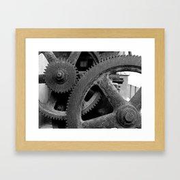 Big Gears Framed Art Print