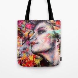 Urban-Girl Original Painting Tote Bag
