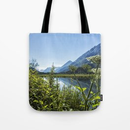 Wildflowers by the Side of Tern Lake Tote Bag