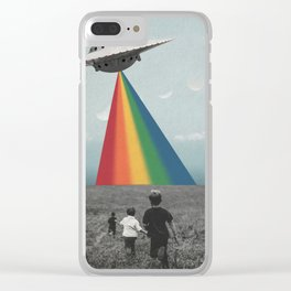 Let's Go! Clear iPhone Case