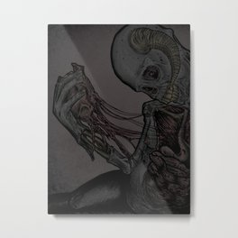 Happy Valentines Day Card  Metal Print