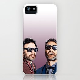 Jemaine and Taika 2 iPhone Case