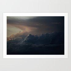 Gloomy Sky 0005 Art Print