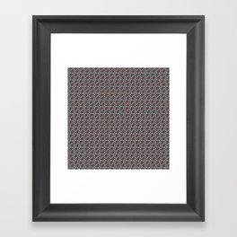 Bicycle Gear Heart Framed Art Print