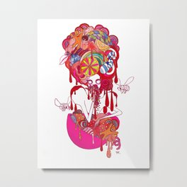 Seven Deadly Sins 'Gluttony' Metal Print