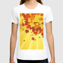 Autumn Leaves 7 T-shirt