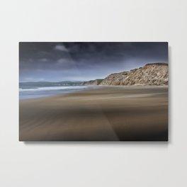 Sandstorm on the Beach Metal Print