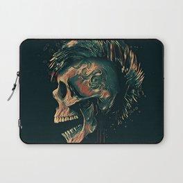Dark skull illustration Laptop Sleeve