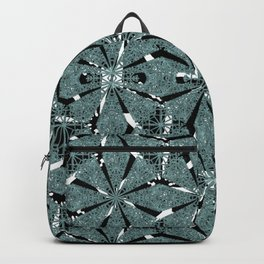 Modern Oriental Ornate Pattern Backpack