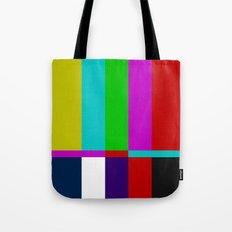 Color Glitch Tote Bag