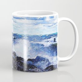 Lake Michigan Waves Coffee Mug