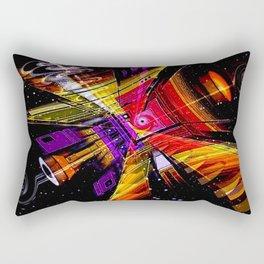 Cosmic fractal abstract. Rectangular Pillow