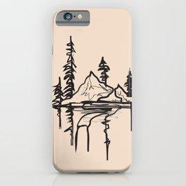 Abstract Landscpe II iPhone Case